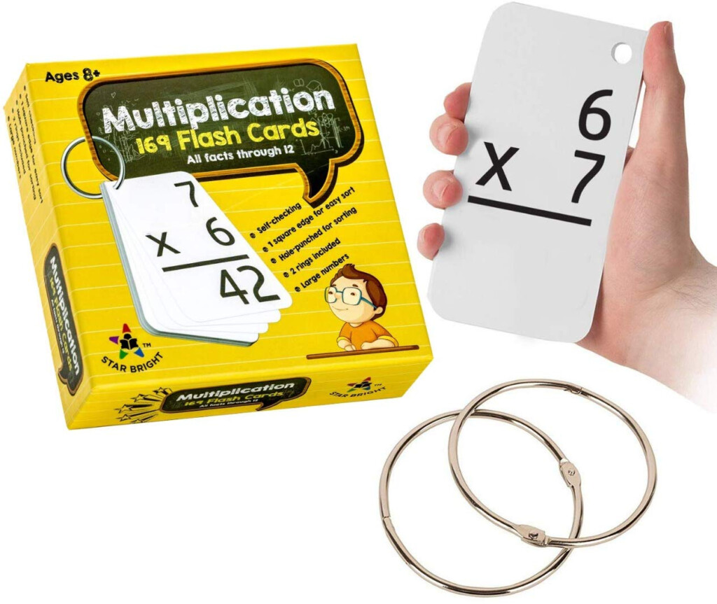 Star Right Education Multiplication Flash Cards | Family