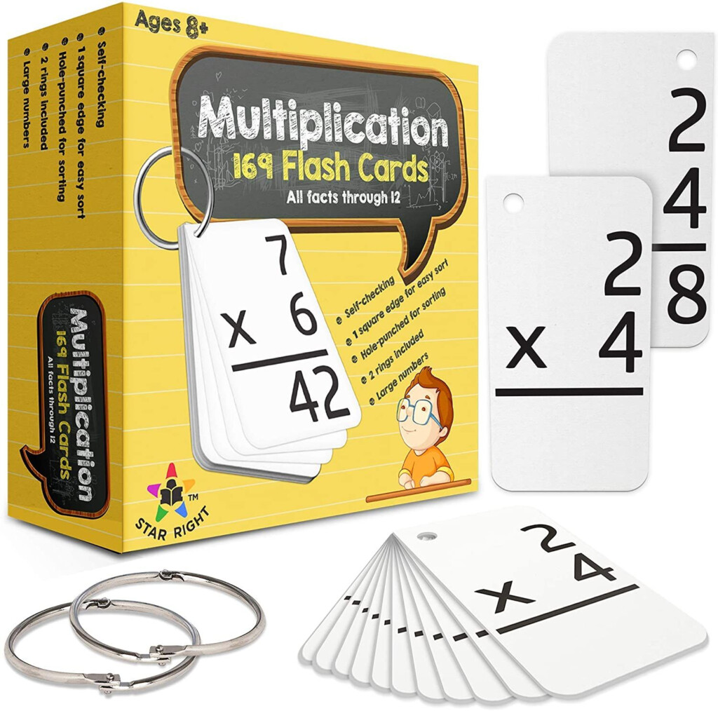 Star Right Multiplication With 2 Metal Binder Rings | 169