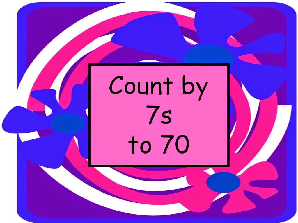 Student Survive 2 Thrive: Skip Count7S To 70 Math Flash