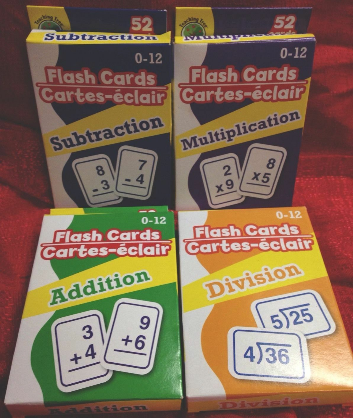 Teaching Tree Addition Flash Cards - 52 Count