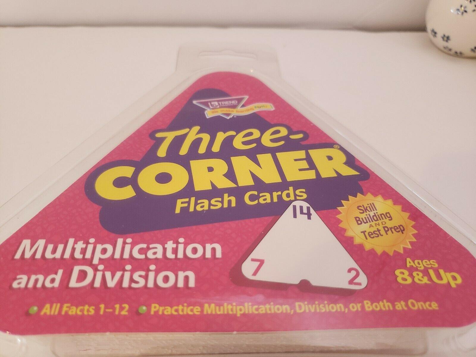 Three Corner Multiplication & Division Flash Cards Trend Enterprises