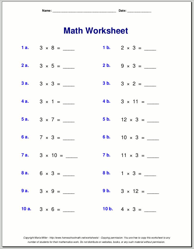 Times Table Chart Free Printable Free Multiplication