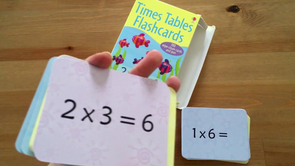 Times Table Flashcards   Usborne