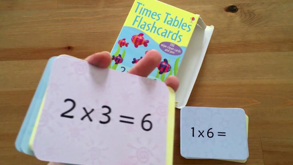 Times Table Flashcards   Usborne
