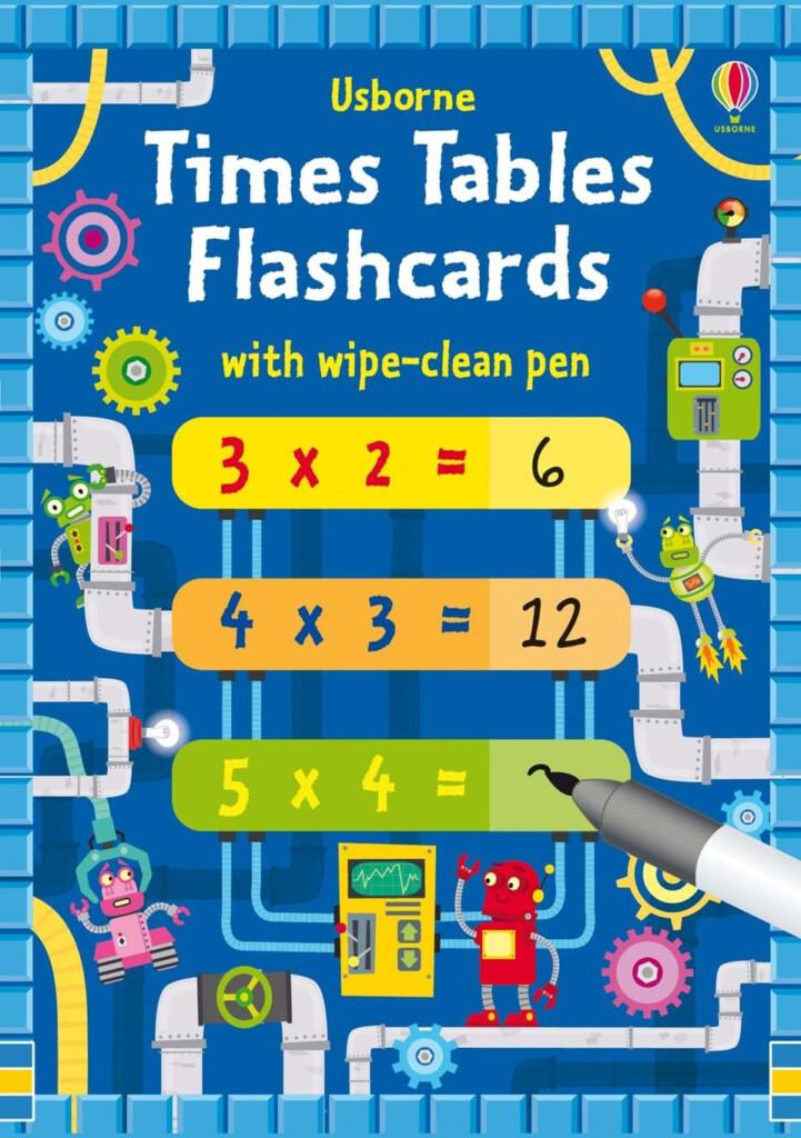 Times Tables Multiplication Flash Cards (Usborne)