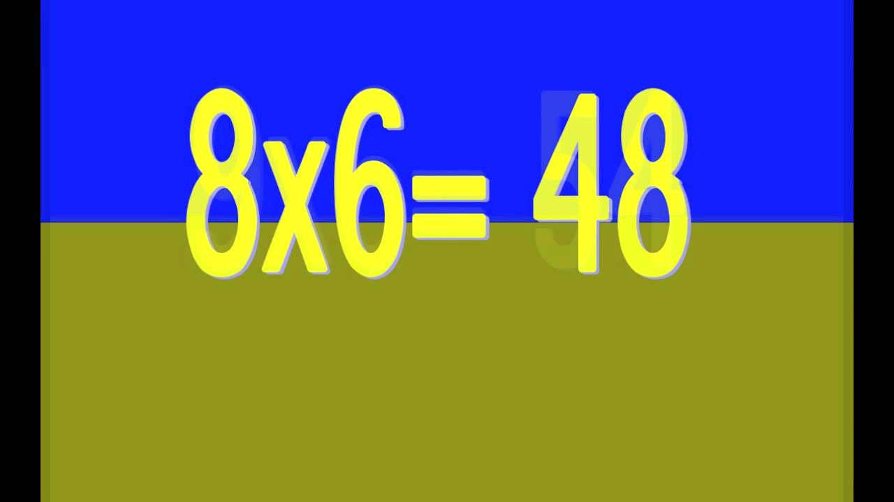Times Tables Song 1-12