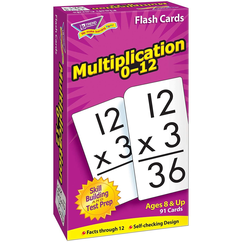 Trend Enterprises, Inc. T-53105Bn Multiplication 0-12 Skill