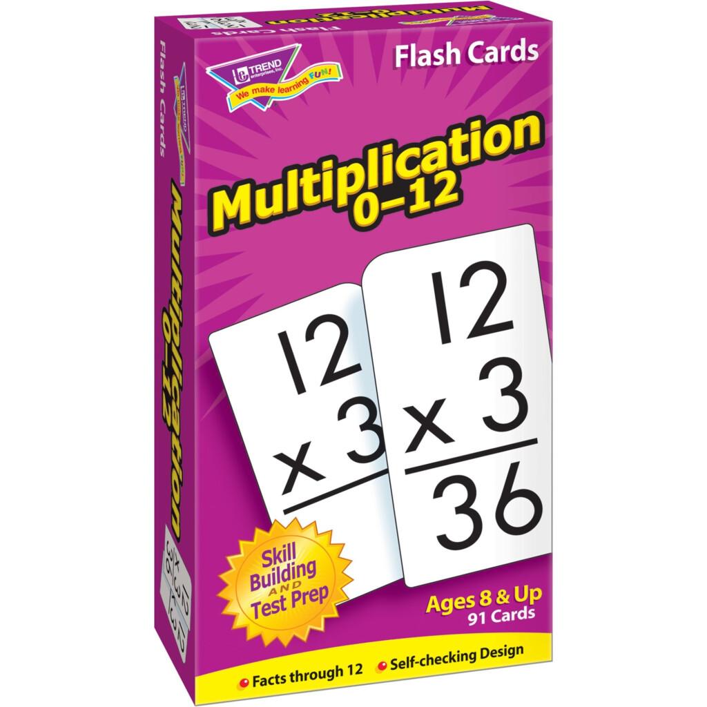 Trend Enterprises Math Flash Cards Ages 8 & Up   Walmart
