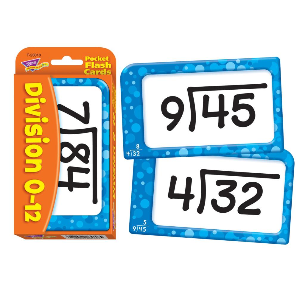 Trend Kids Childrens Math Multiplication Pocket Flash Cards