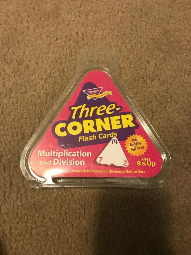 Trend Multiplication & Division 3 Corner Flashcards