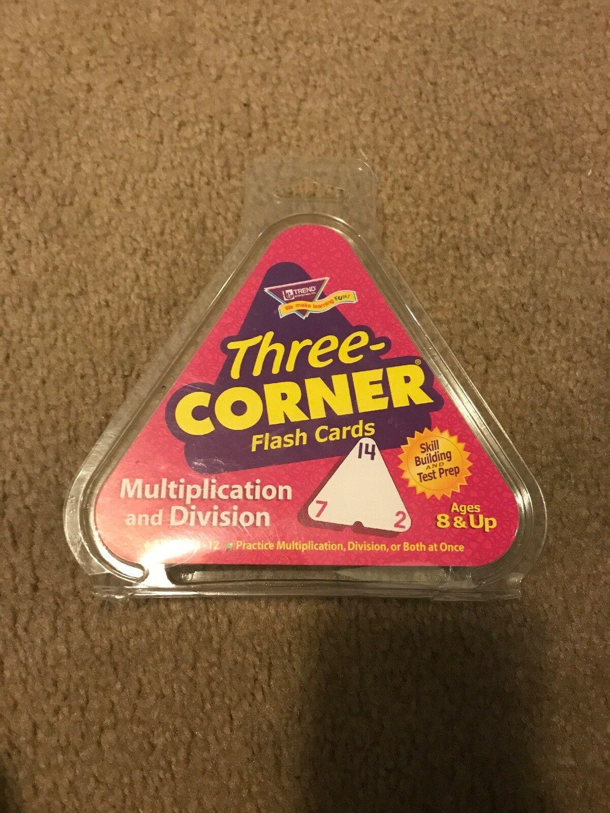 Trend Multiplication & Division 3-Corner Flashcards