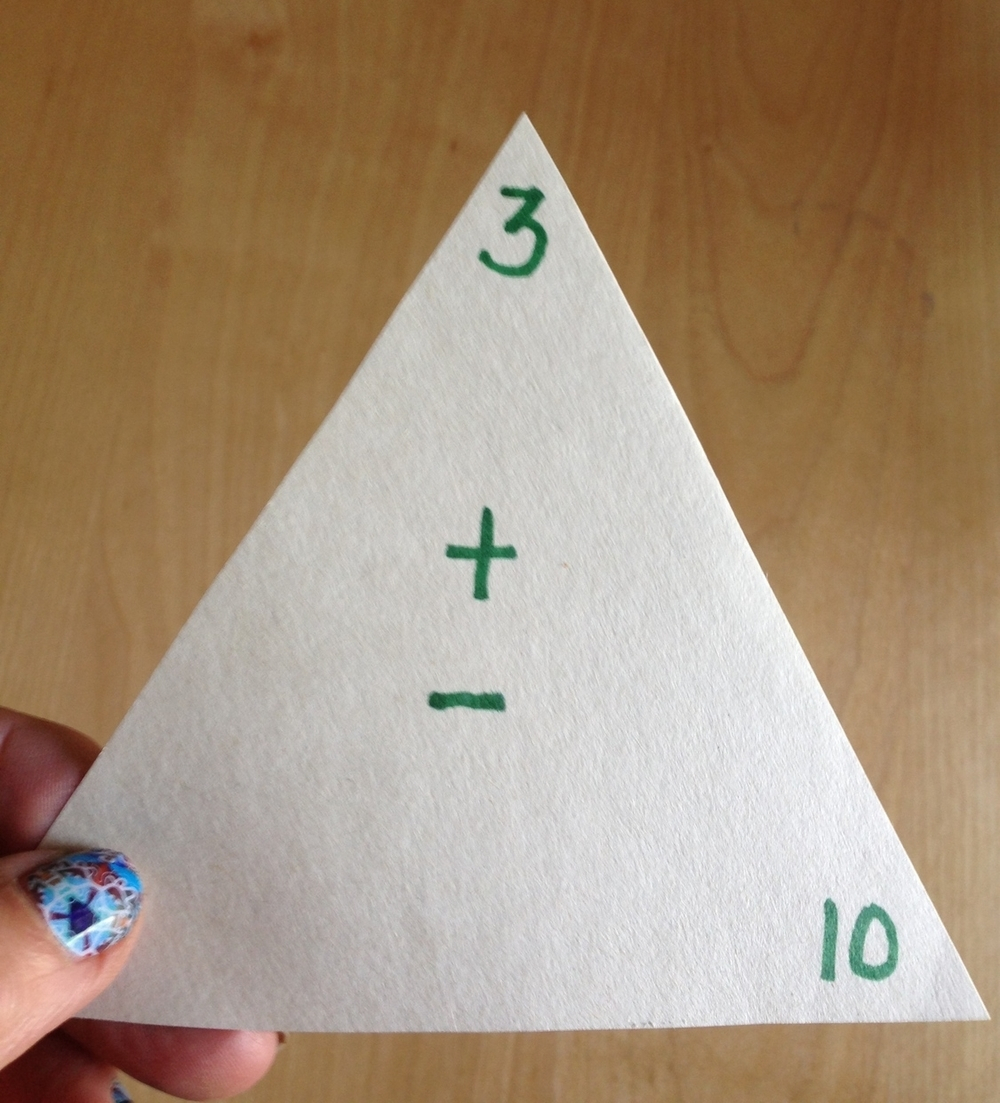 Triangle Flash Cards - Easy As 1, 2, 3! — Winsome Arrows