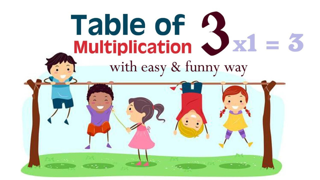 Yes Yes 3 Multiplication Table Song | Learn Multiplication   Table Of 3  Nursery Rhymes Kids Songs