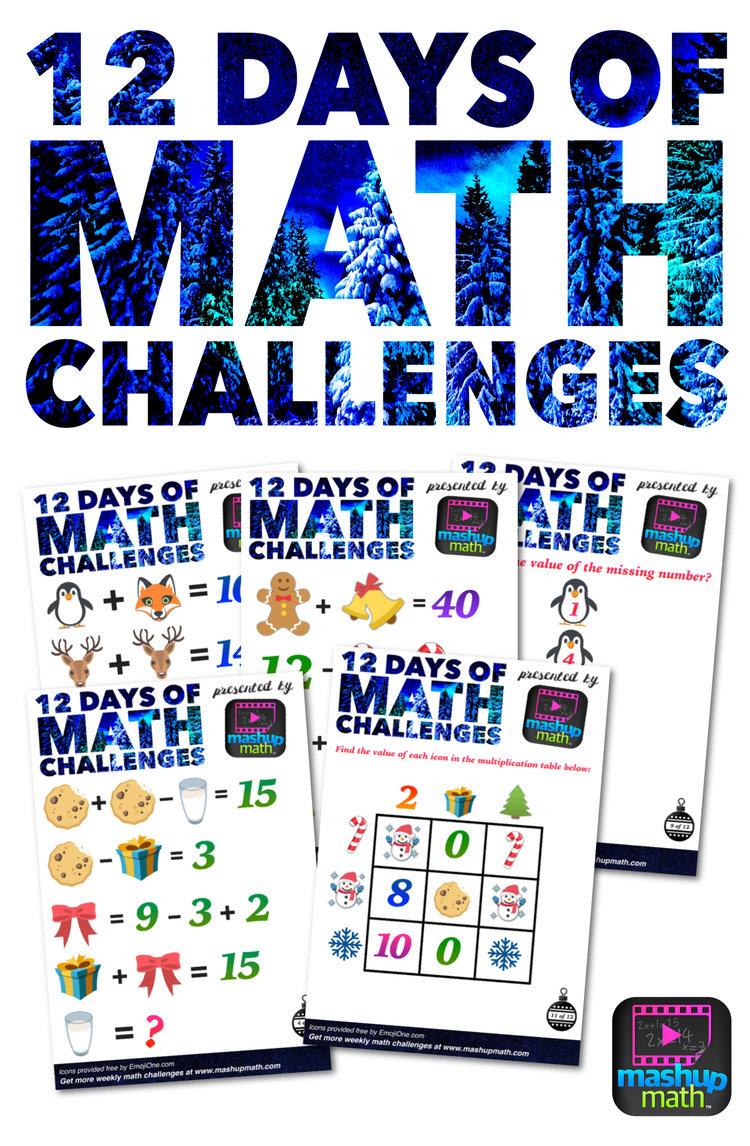 5 Awesome Christmas Math Activities For 5Th Grade — Mashup Math