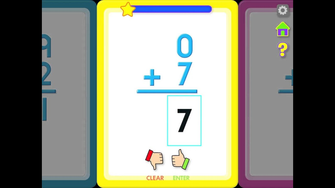 Addition Flash Cards App (Android & Ios)