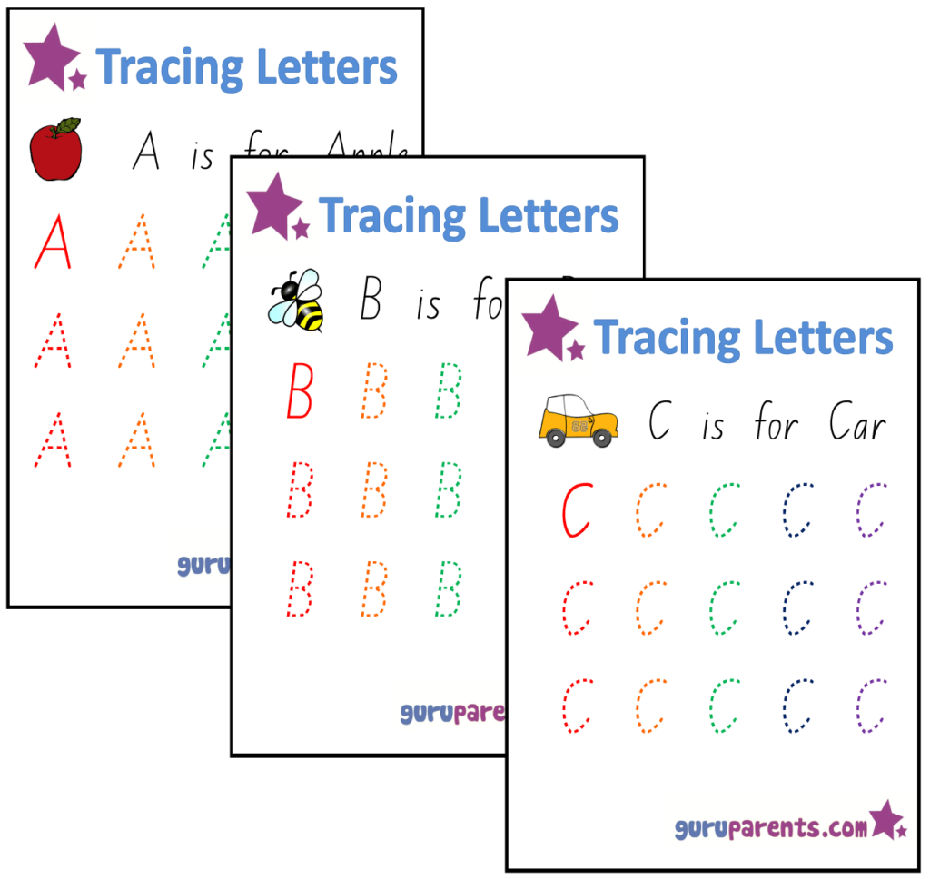 Alphabet Worksheets | Guruparents