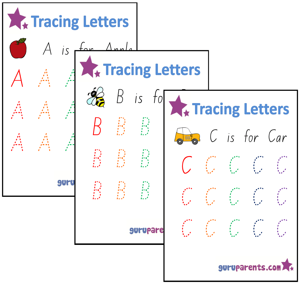 Alphabet-Worksheets | Guruparents