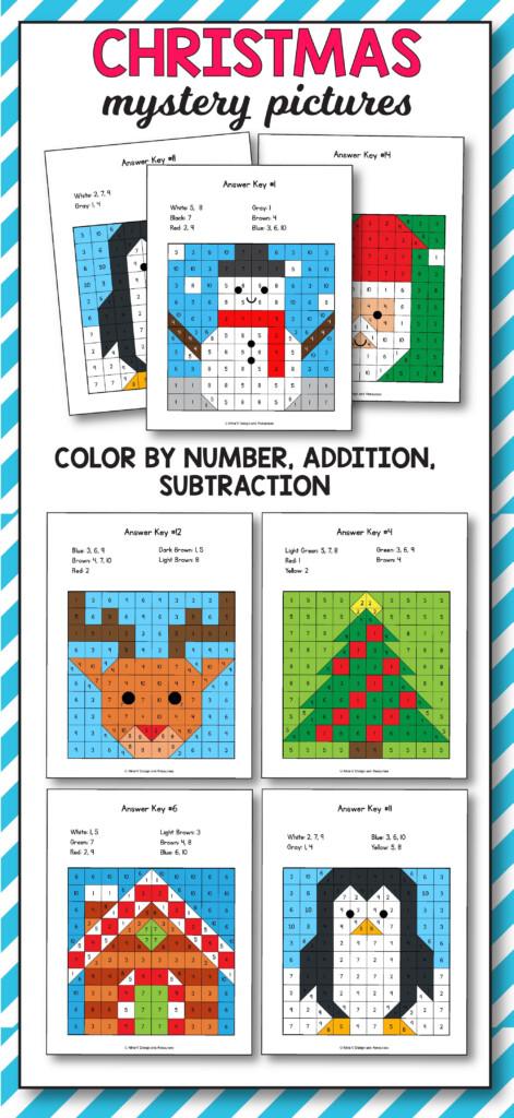 Christmas Addition And Subtraction | Christmas Math Mystery