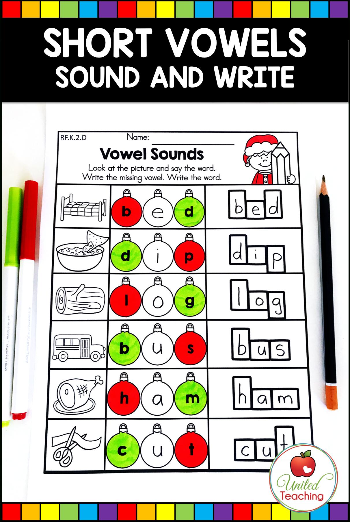 Christmas Math And Literacy Kindergarten No Prep Activities