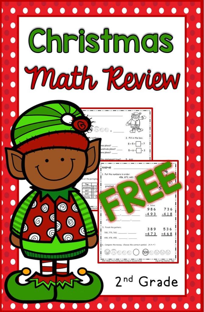 Christmas Math For 2Nd Grade  Free Second Grade Math