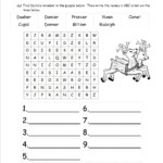 Christmas Worksheets And Printouts Free Second Grade Math