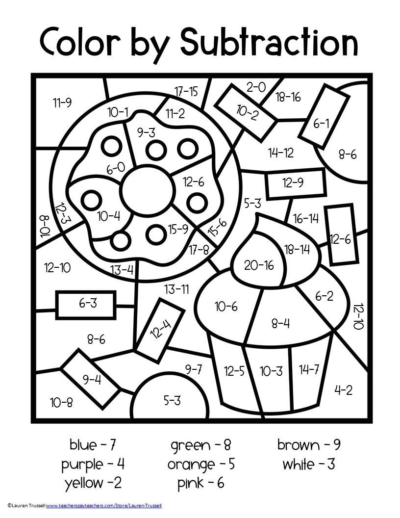 Coloring ~ Math Coloring Worksheets 2Nd Grade Christmas