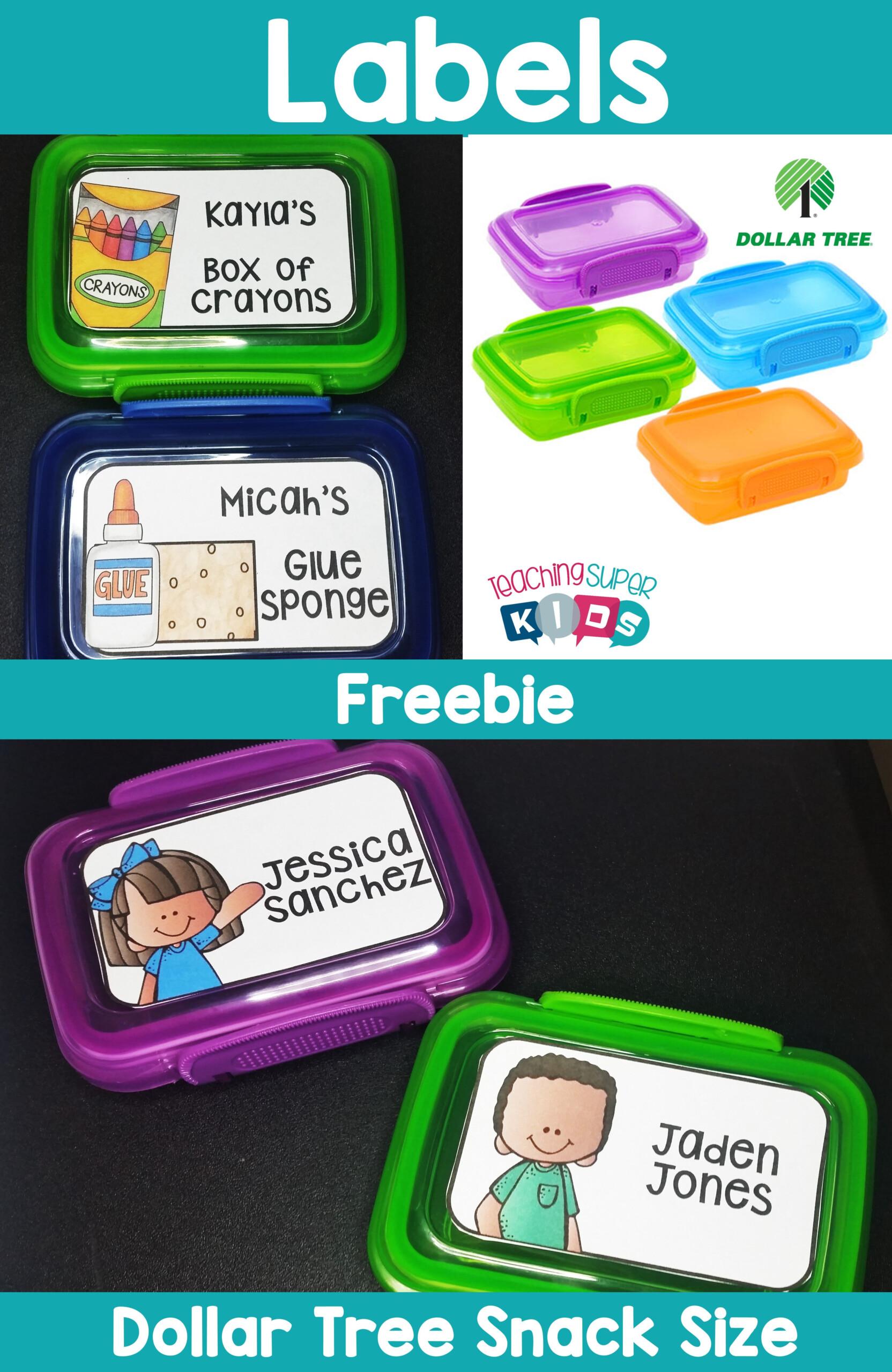 Crayon Box Editable Labels In 2020 | Dollar Tree Classroom