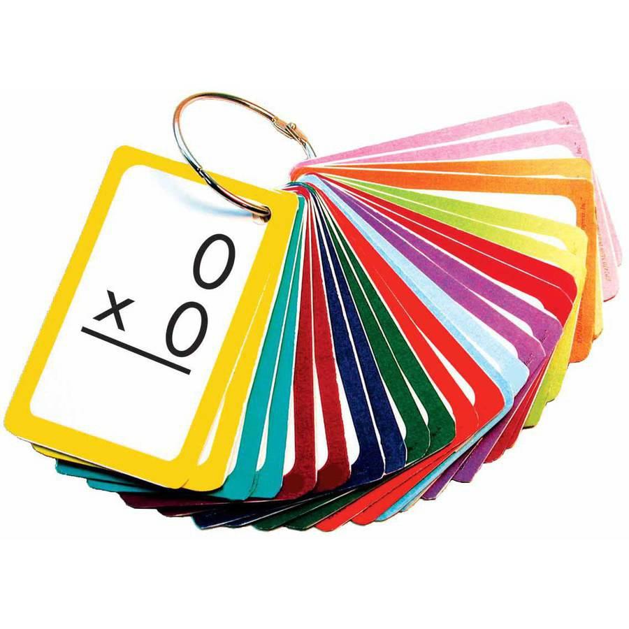 Edupress Math In A Flash Flashcards Multiplication Set - Walmart