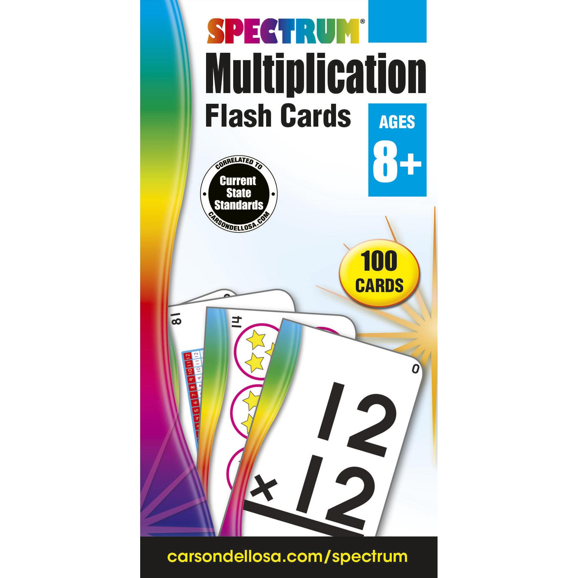 Flash Cards - Multiplication