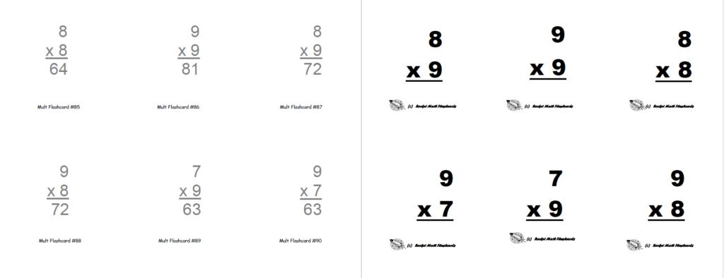 Flashcards (Print Yourself)   Rocket Math
