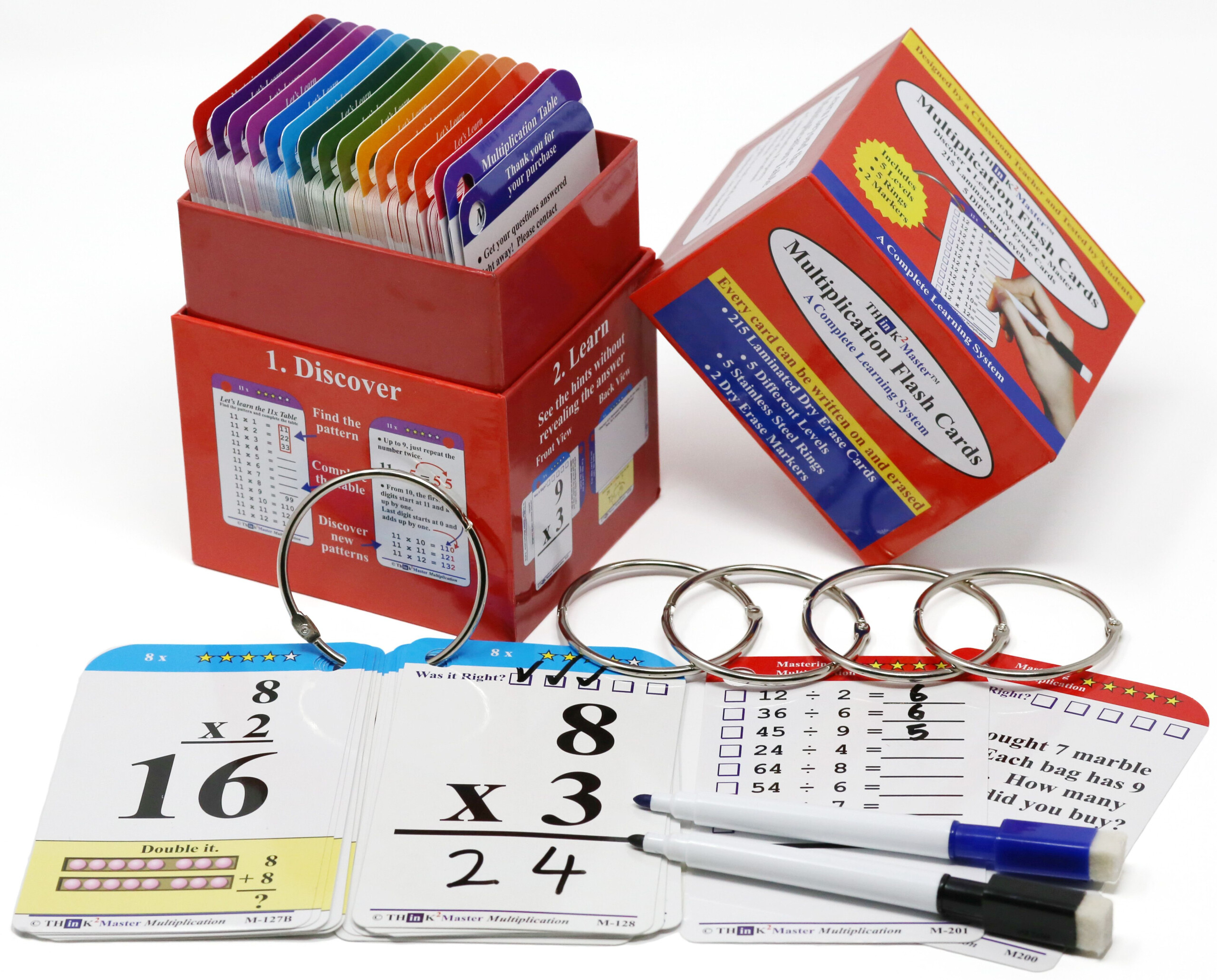 Learn More Than Multiplication | Multiplication Flashcards
