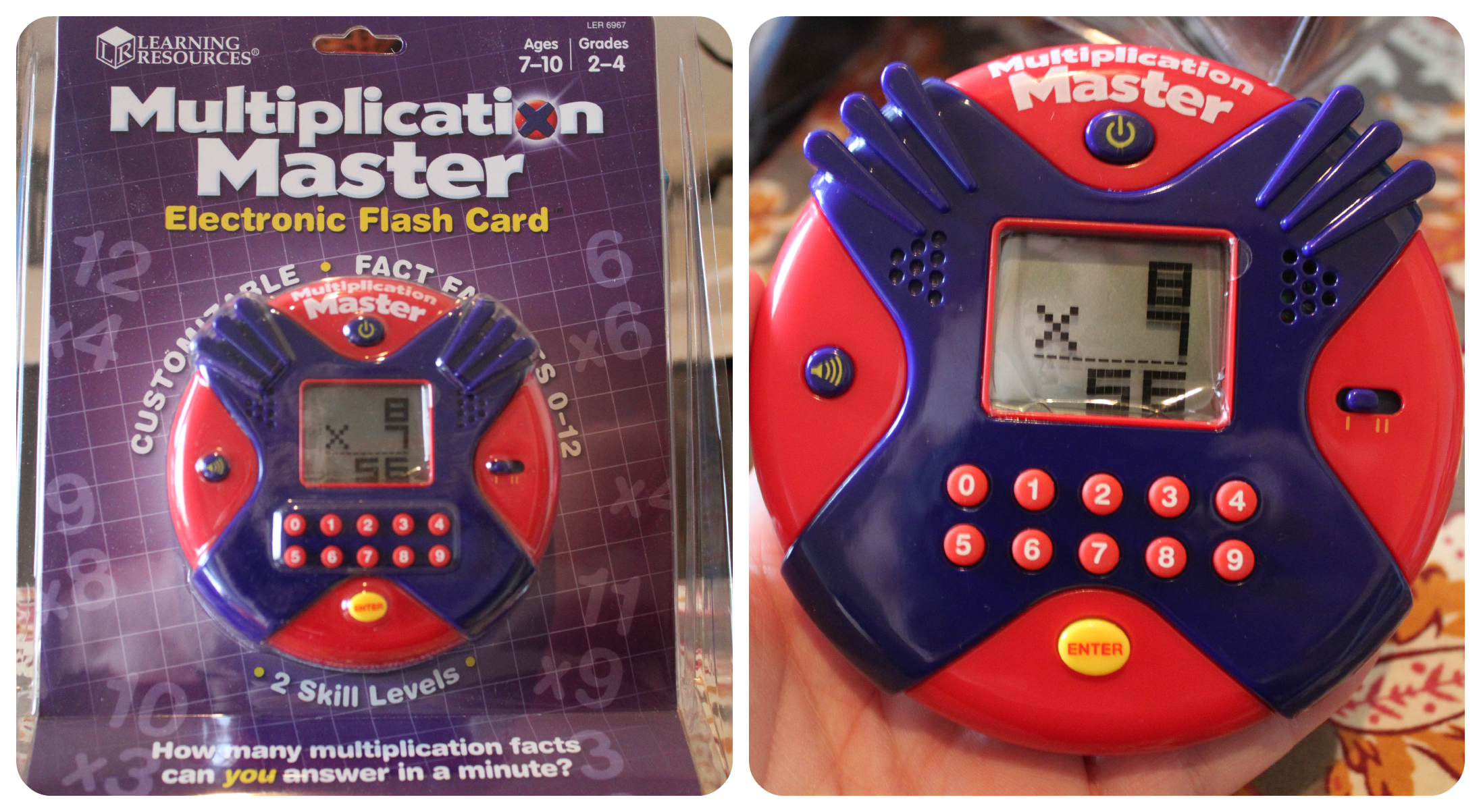 Learning Resources: Multiplication Master Electronic Flash