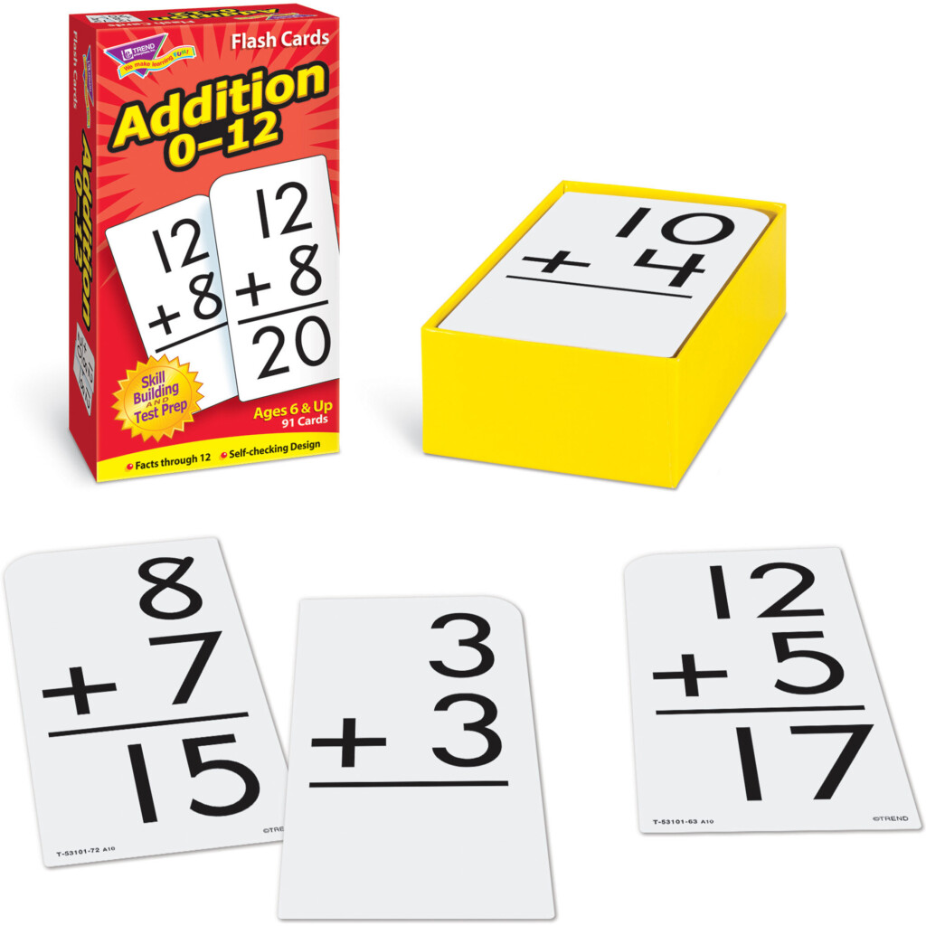Math Flash Cards Addition