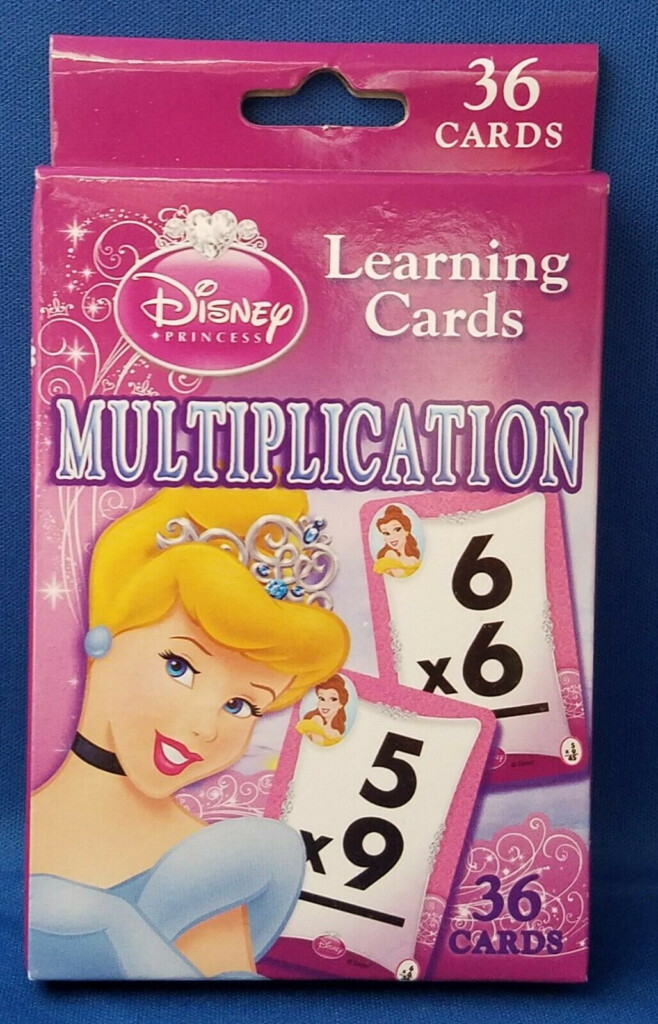 Math Flash Cards Disney Princess   Multiplication Sale | Ebay