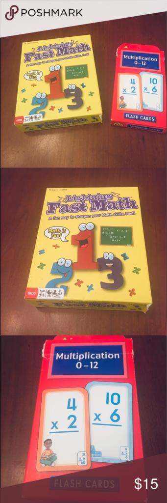 Math Skills Bundle   Fast Math Games, Math Skills, Math