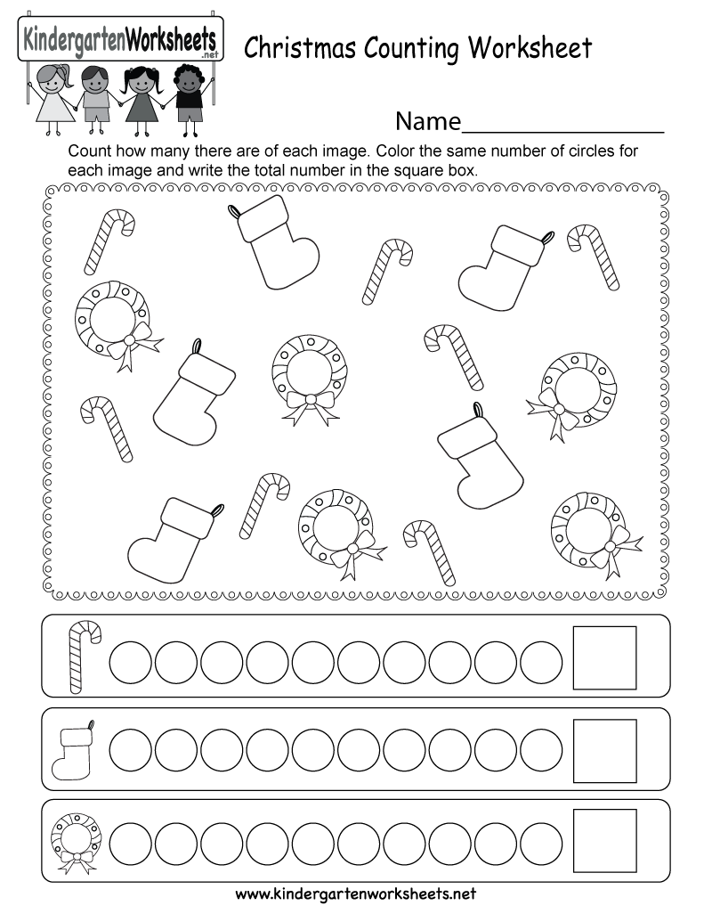 Math Worksheet : Counting Worksheets For Kindergarten