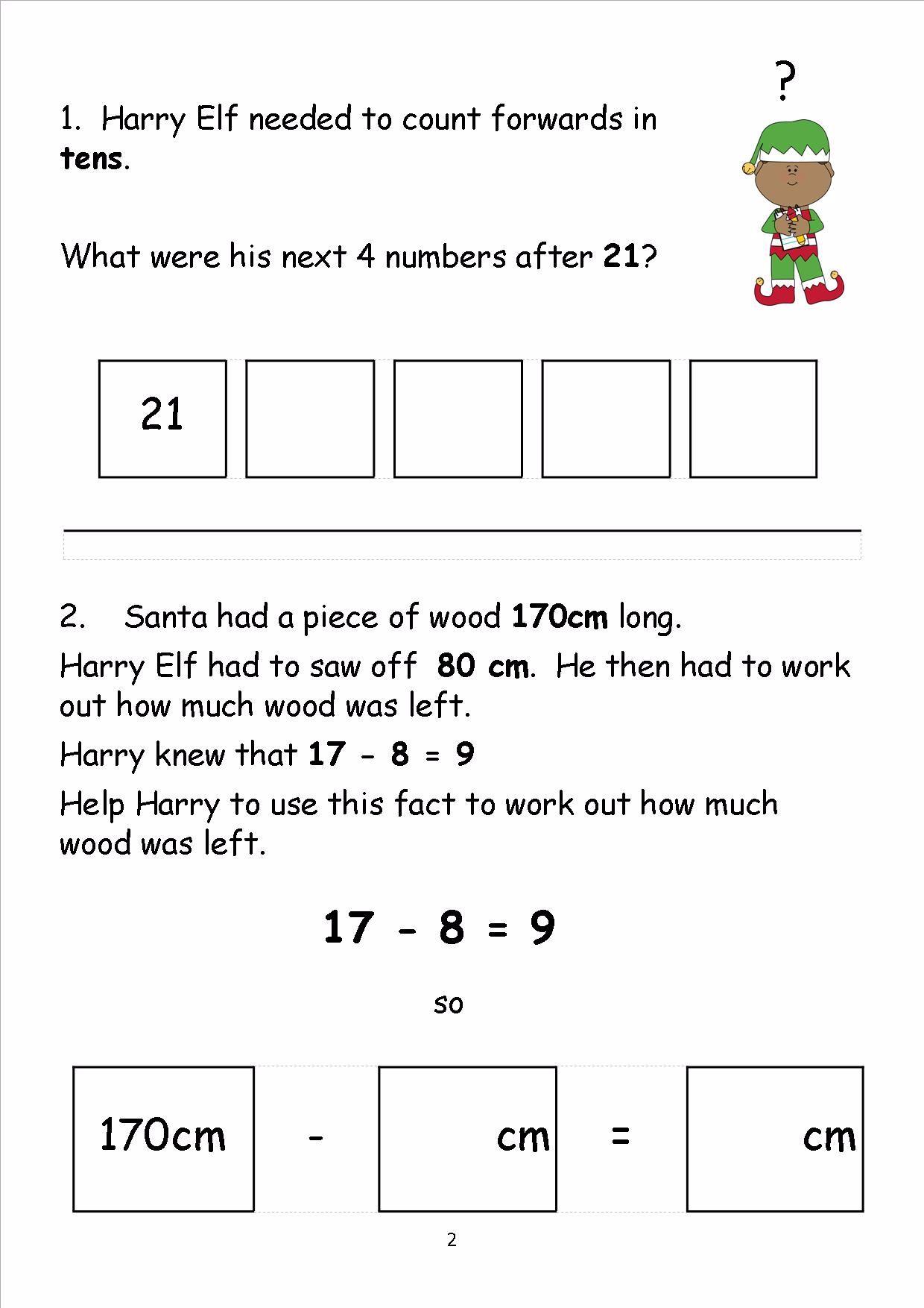 Maths Activity Sheets Christmas – Lbwomen