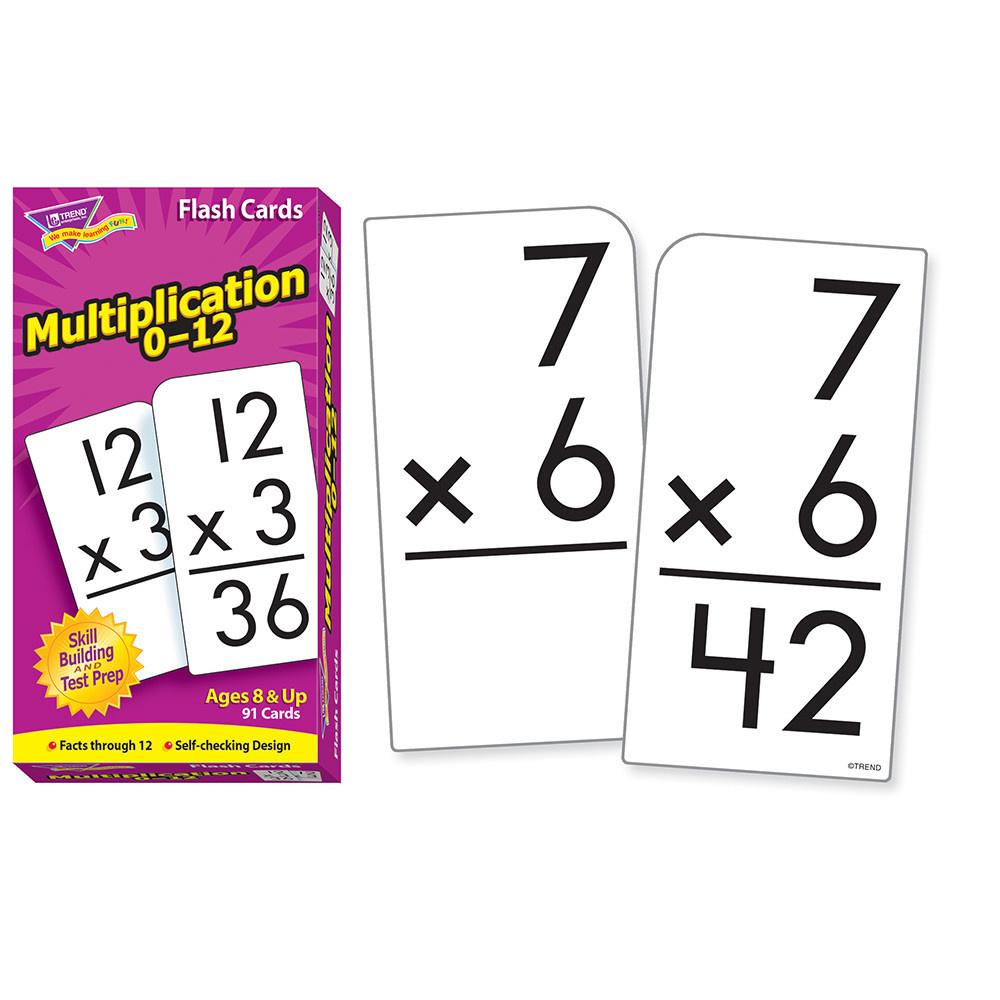 Multiplication 0-12 Skill Drill Flashcards