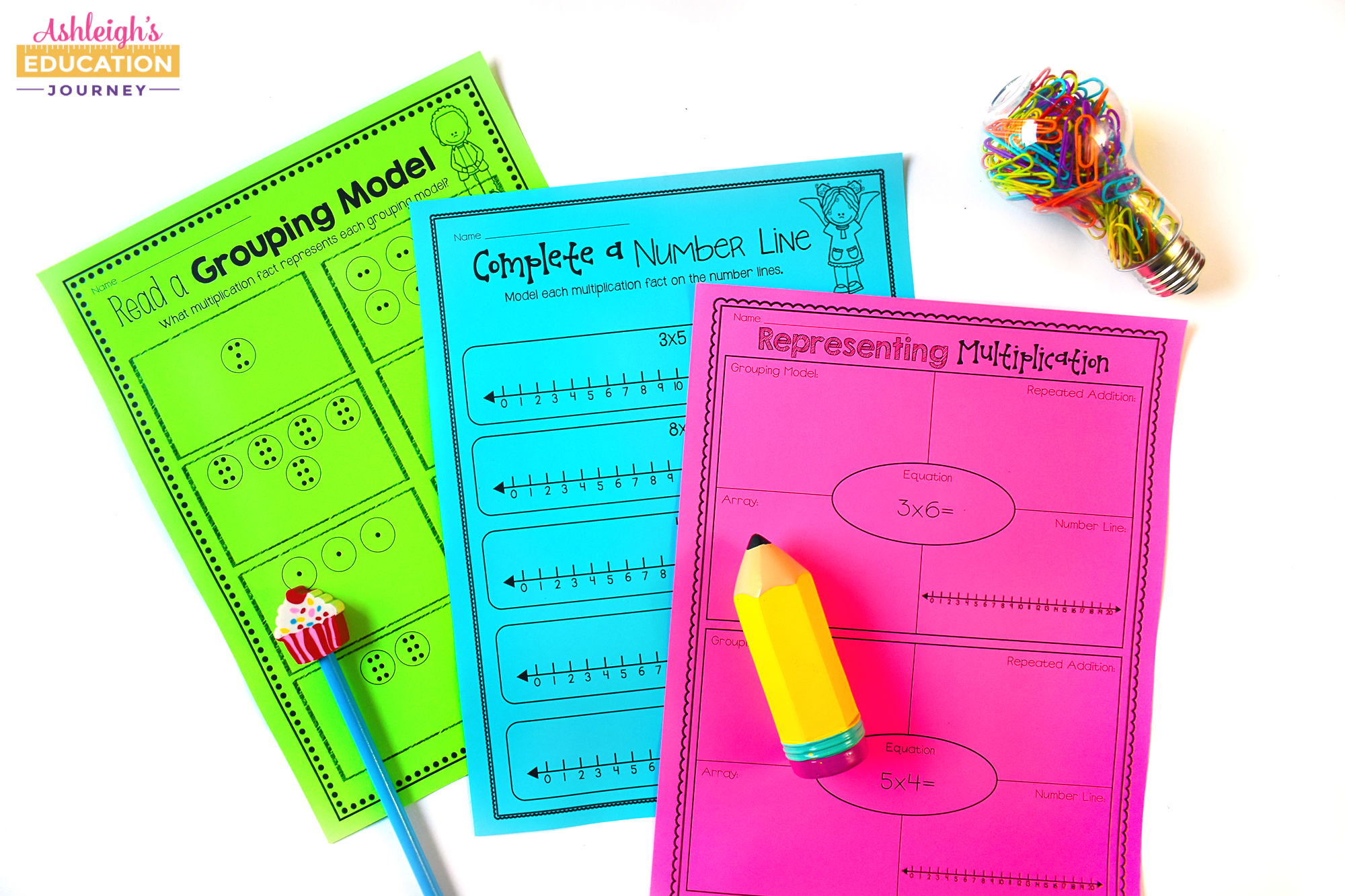 Multiplication Facts For Upper Elementary Students
