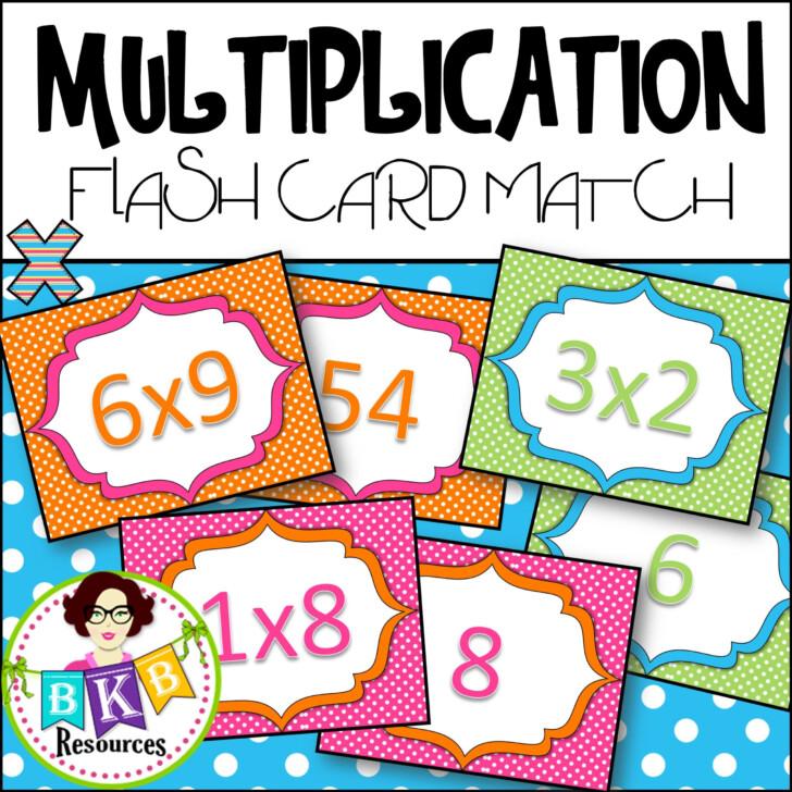 Flash Card Maker Multiplication