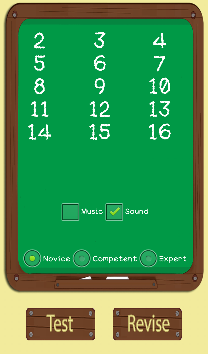 Multiplication Flash Cards (Learn Tables) With Voice Recognition