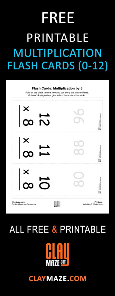 Multiplication Flash Cards   Practice Multiplication Facts