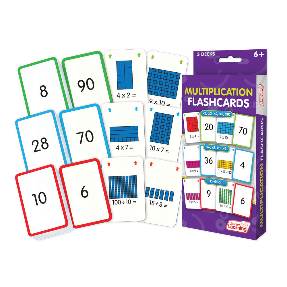 Multiplication Flashcards - Games, Puzzles And Toys   Eai