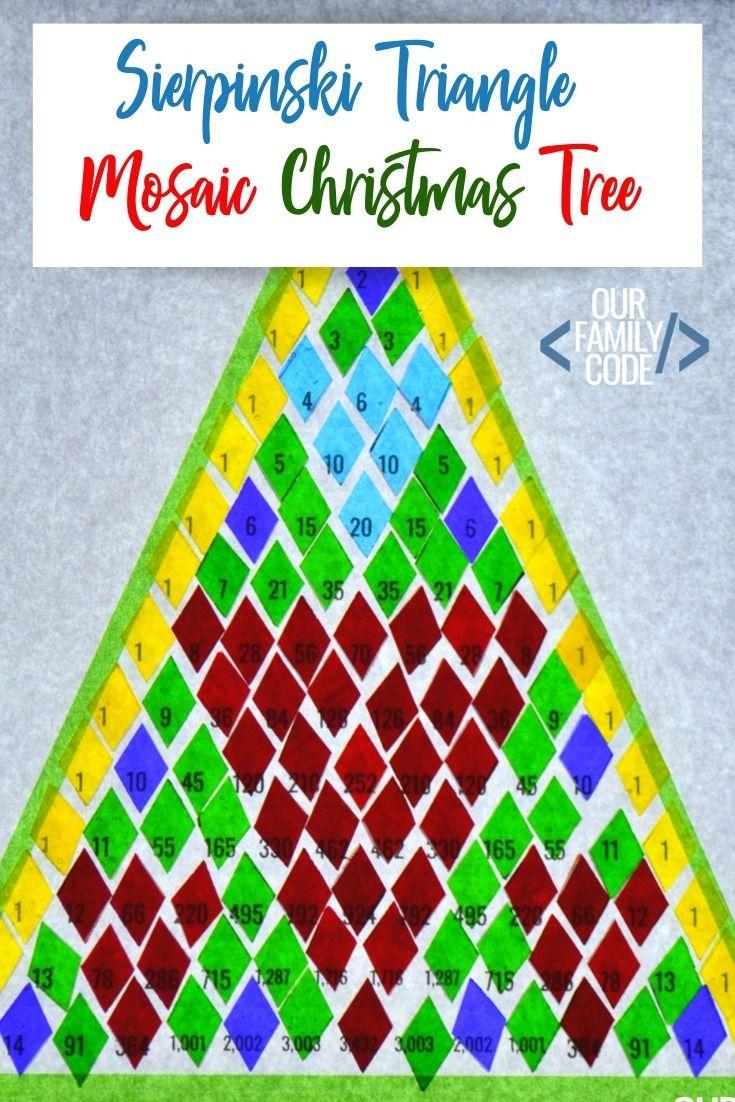 Pascal's Triangle Christmas Tree Patterns Math Activity