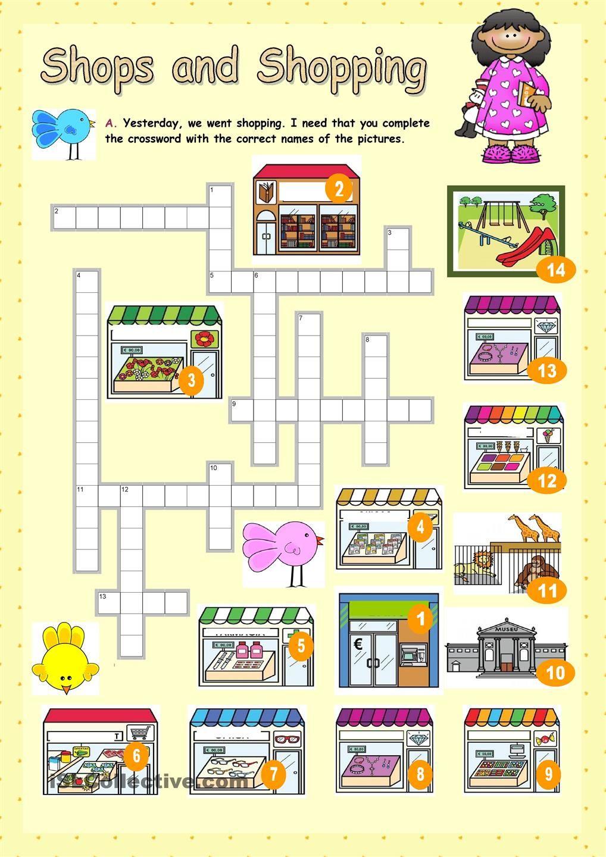 Shops And Shopping   Math Worksheet, Worksheets, Math Worksheets