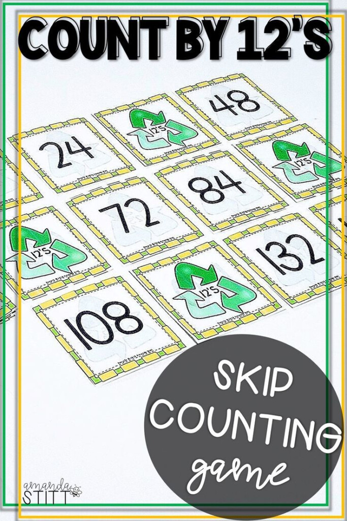 Skip Counting Game | Multiplication Facts Game | 12S