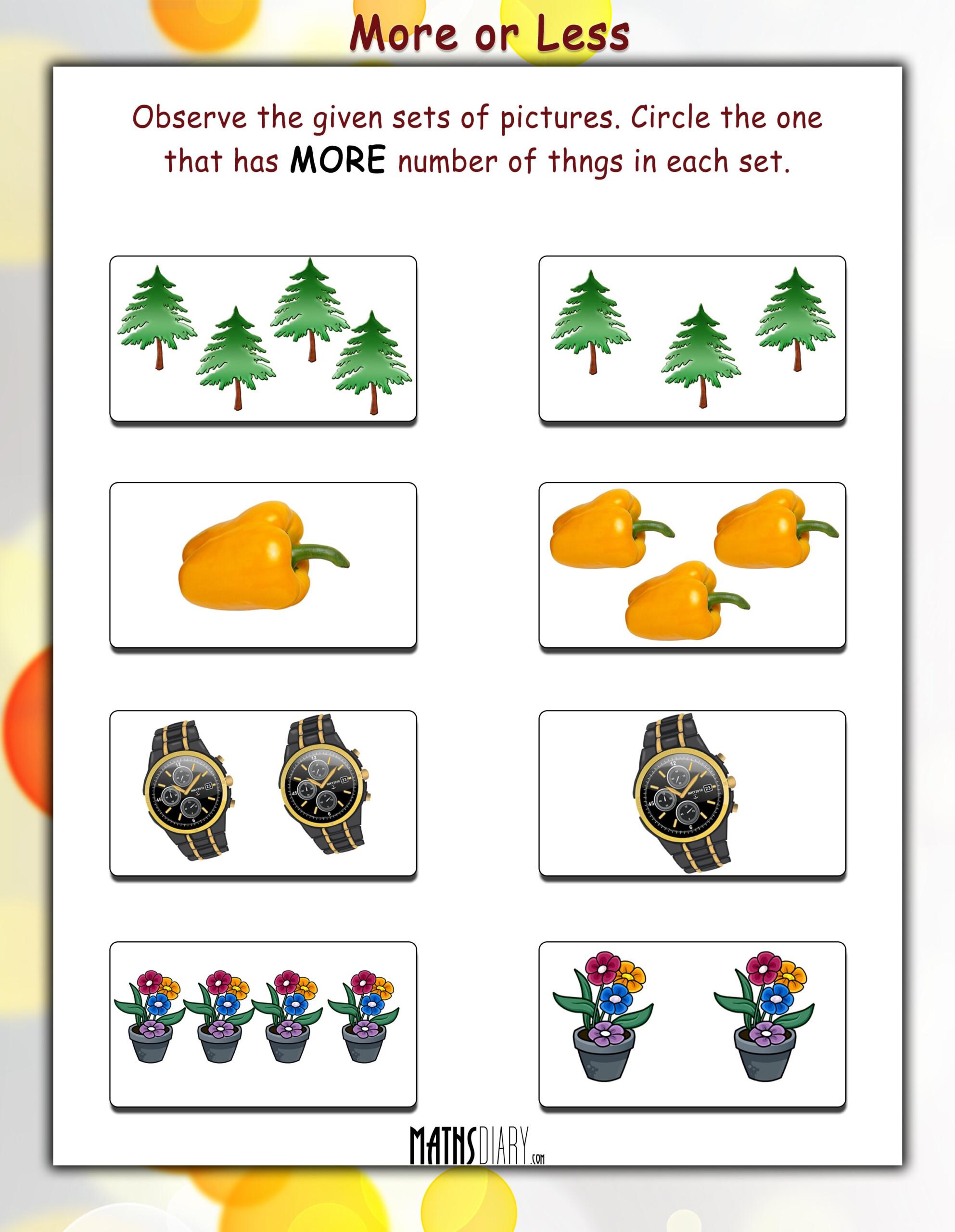 Sparklebox Maths Worksheets | Printable Worksheets And