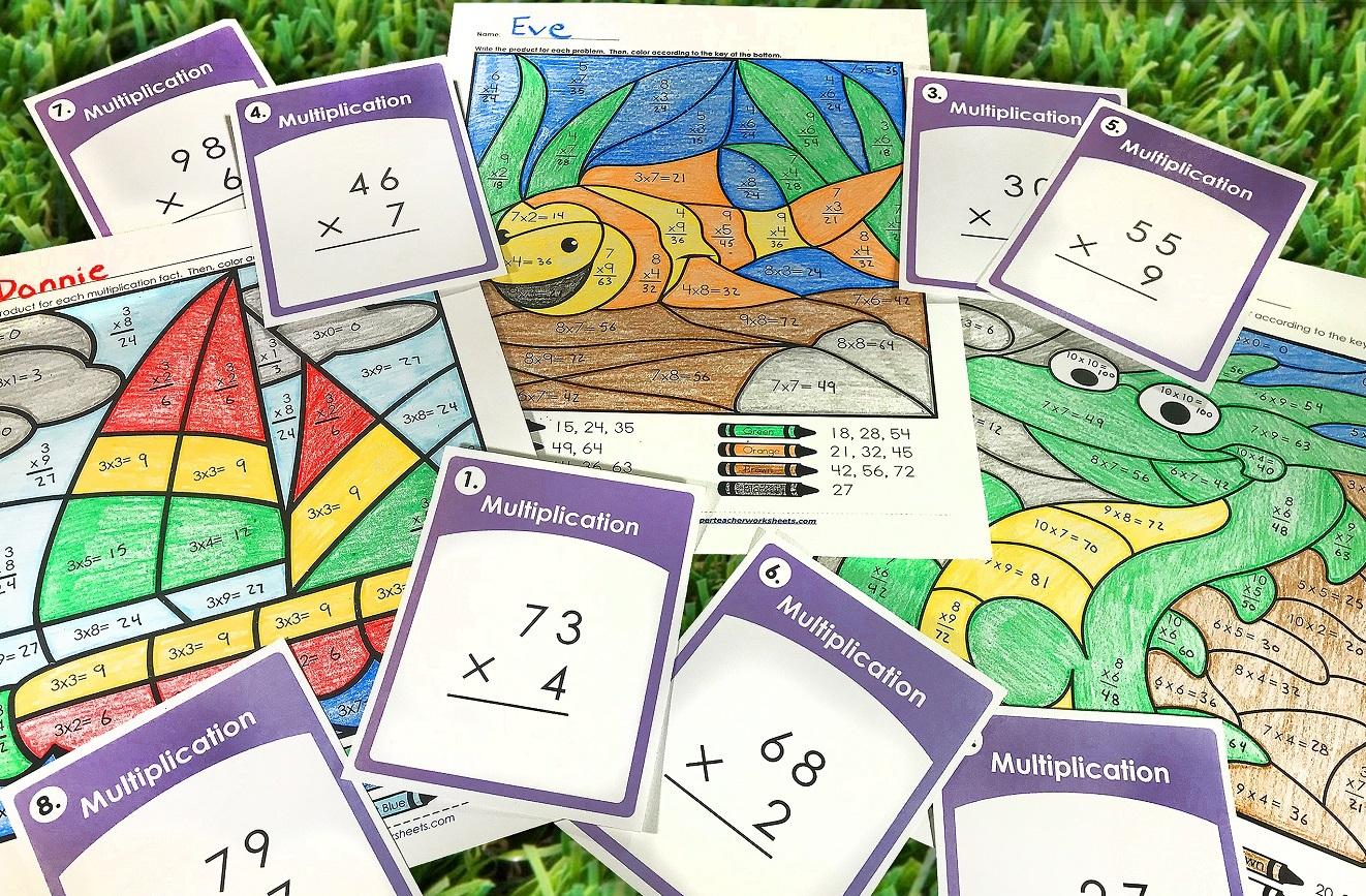 Summer Multiplication Fun