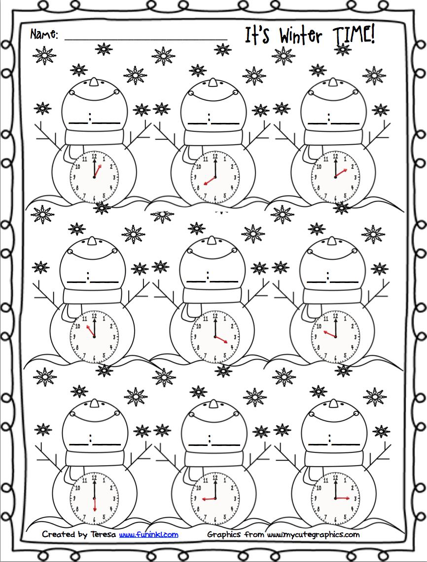 Teaching Blog Round Up: It's Winter Time! | Winter Math