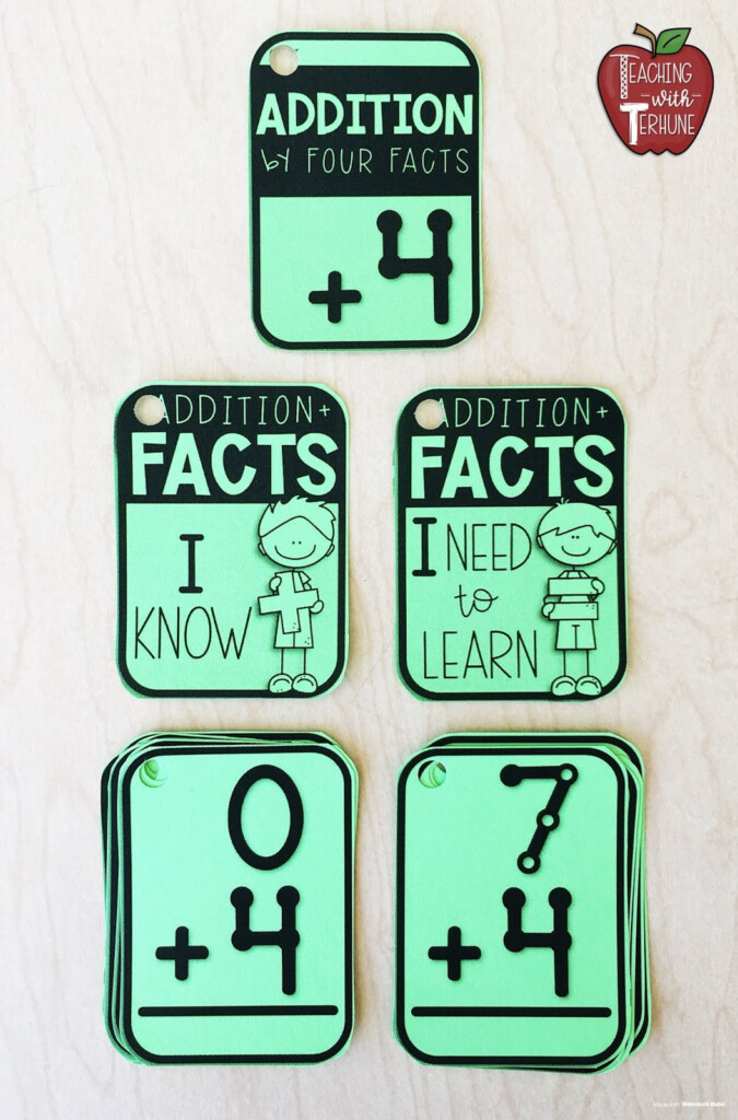 Teaching With Terhune: Touchmath And Fact Fluency Practice